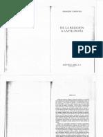 Cornford, Francis. de La Religión a La Filosofía (Prefacio)