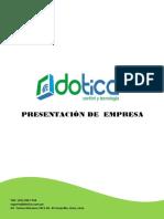Carta de Presentacion- Dotica