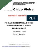 CEM - Corpo de Engenheiros Da Marinha - Curso Online - 2017.2018 Chico Vieira