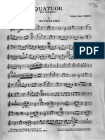 Quatuor 4 Dubois Parts