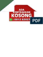 Kontrakan Print PDF