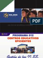 Gestion de Los Centros Educativos Eficientes