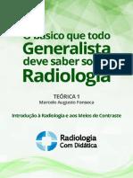 Teórica 1_Introdução à Radiologia e Aos Meios de Contraste