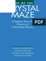 (eBook) Out of the Crystal Maze. Chapters From the History of Solid State Physics by Lillian Hoddeson