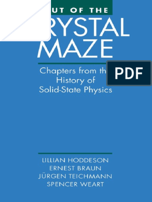 Ebook Out Of The Crystal Maze Chapters From The History Of