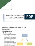 Penyebab Dan Perkembangan Penyakit Di Lingkungan Rs