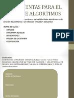 Herramientas Para El Diseño de Algortimos