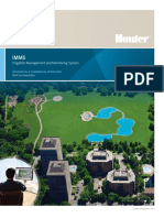 Hunter IMMS - Irrigation Management and Monitoring System