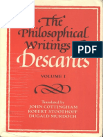 Descartes, René - Philosophical Writings, Vol. 1 (Cambridge, 1985)
