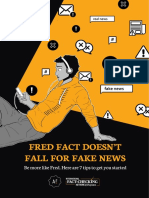 Fred Fact Doesn´t Fall for Fake News