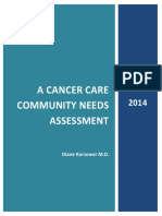 Cancer Care Community Needs Assessment 2014