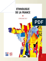 Catalogue Ethnologie de La France 2017