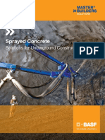 Underground-Sprayed Concrete Brochure