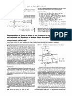 Decomposition of Ozone in Water in the Presence of Organic Solutes Acting as Promoters and Imhibitors of Radical Chain Reactions