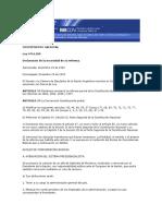 Ley 24.309 Declarativa de Necesidad de La Reforma 1994