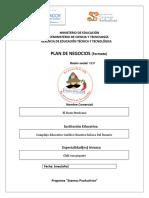 Plan Denegocios Estructurado