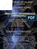 Analisis y Diagnostico Organizacional