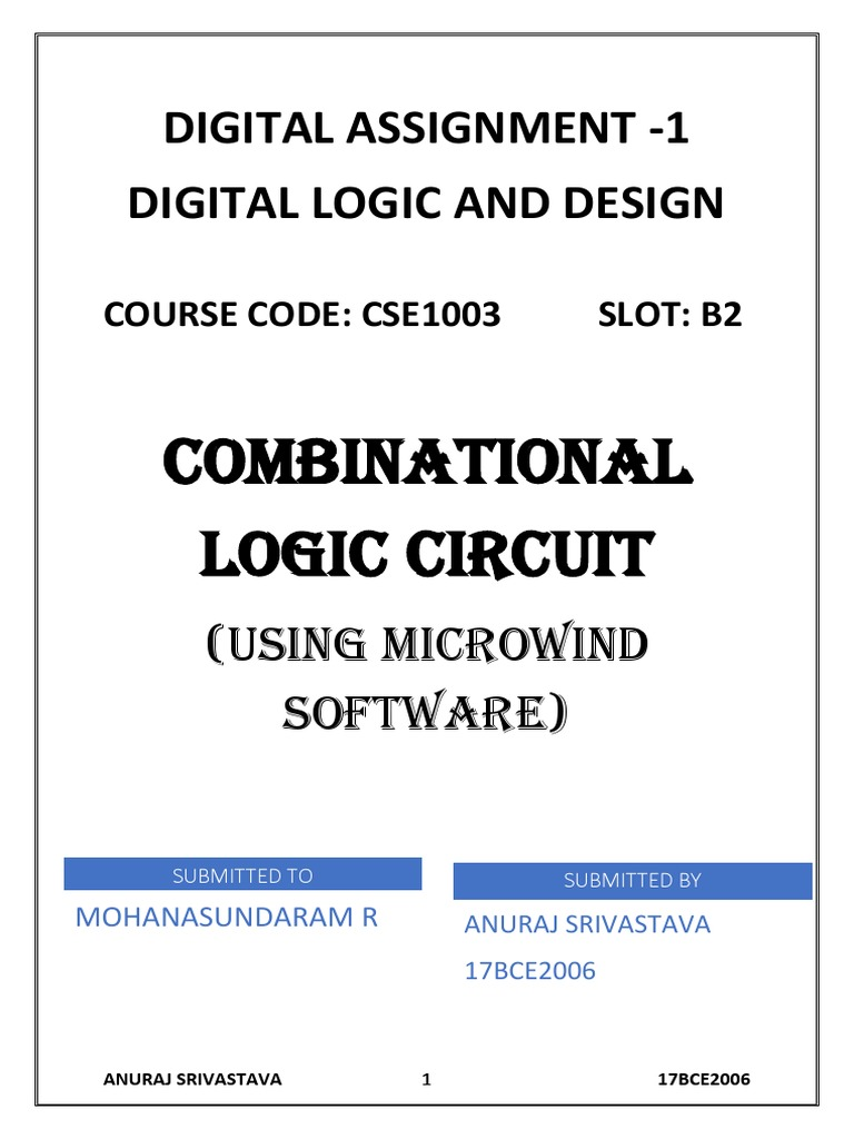 Digital Logic And Design Gate Electronic Circuits Microwind Simulation Of The Circuit