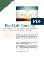RLM Spring Newsletter 2018