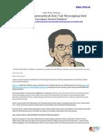 Aktivis Muhammadiyah Kini Tak Menangkap Ruh Gerakan Sosial Dahlan