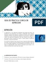 Guia de Practica Clinica en Depresion