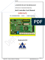 Embedded Controller Lab Manual by RAGHUNATH