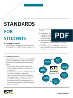 iste standards for students  permitted educational use