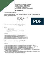 Progresion Airmetica y Geometrica