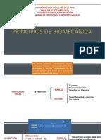 Principios de Biomecánica
