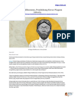 Ki Bagus Hadikusumo, Pendukung Keras Piagam Jakarta