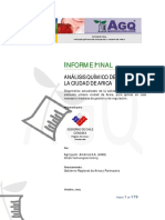 INFORME - Análisis químico de suelos de la ciudad de Arica - 2009 - Agriquem América - 1 Edición