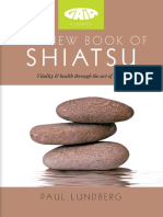 The New Book of Shiatsu - Paul Lundberg