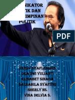 1. Komunikator Politik Dan Kepemimpinan Politik