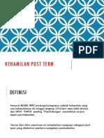 Persalinan Post Term