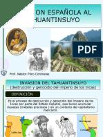 invasionespaolaaltahuantinsuyo-111115180117-phpapp01