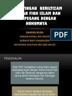 1.4 Kepentingan Beriltizam Dengan Fiqh Islam Dan Berpegang Dengan