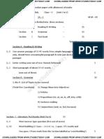 CBSE Class 5 English Question Paper SA 1 2013 (2)