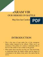 PARAM VIR Our Heroes in Battle