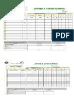 Certificado de Calidad (Sistema Propulsor Andrew g)
