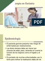 Farmacoterapia en Geriatria (2)
