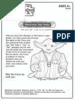 Star Wars Ask Yoda