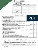 Shubham Bhargava's CV