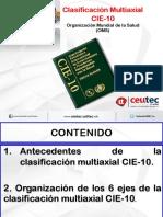 CIE-10 Evaluación Multiaxial- Homologación
