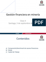 Gestion Financiera en Mineria