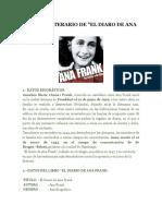 Análisis Literario de Ana Frank