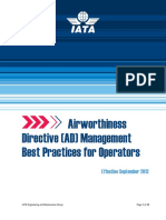 Airworthiness Directive Mgmt