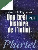 John Barrow - Une Brève Histoire de l'Infini