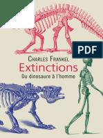 Extinctions - Du dinosaure à l'homme. Charles Frankel
