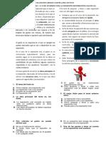 Evaluación Grado Octavo Lengua Castellna