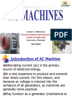 Third -Class Electrical Machines